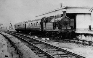 H Class loco no 31263 Westerham Station