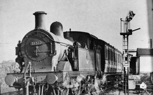H Class loco no 31517 Westerham Station