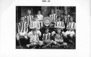Hosey School football team 1923 - 4
