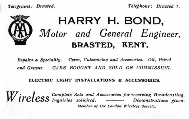 1926 Harry H Bond