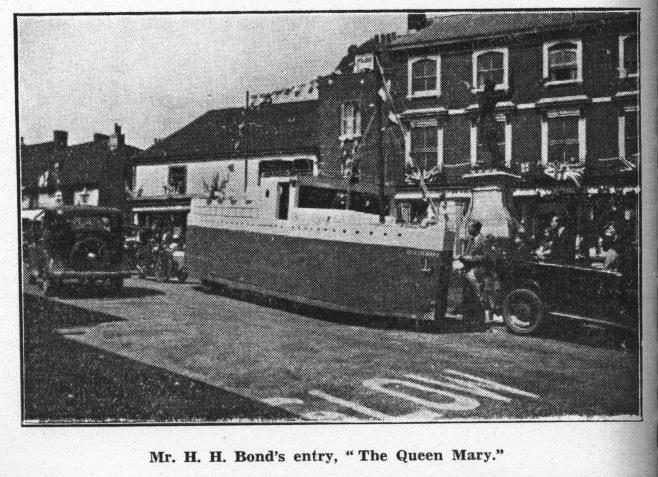 1935 HH Bond Carnival Float