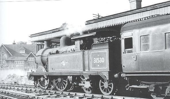 H Class loco no 31530 Westerham Station