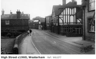 1960 Westerham High Street looking west Royal Standard Pub