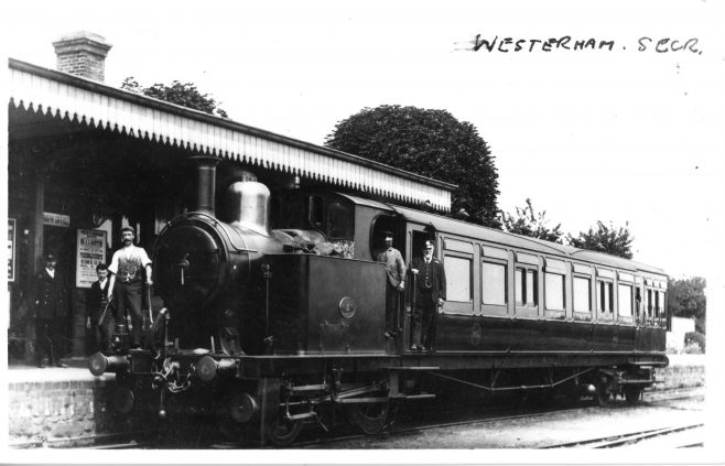 Steam Railmotor Number 3