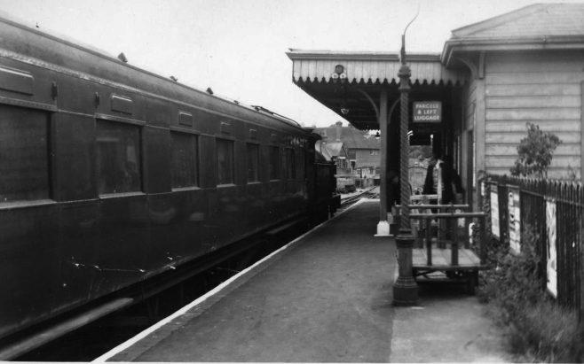 Westerham Station Forecourt