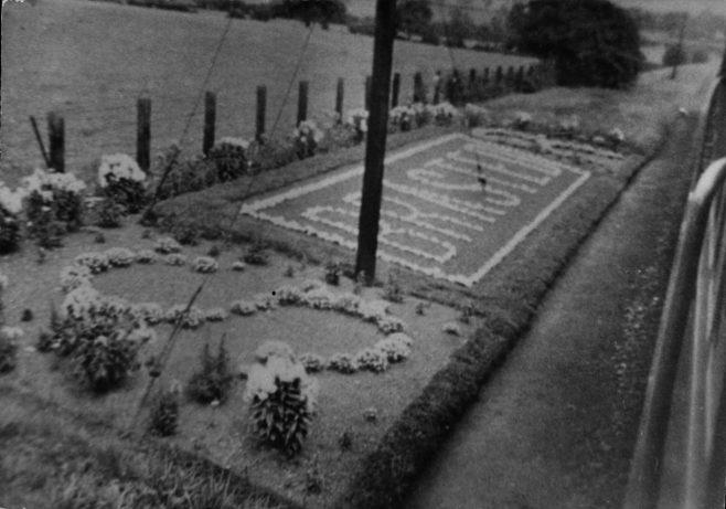 Brasted station garden sign
