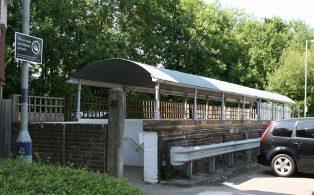 WVR Dunton Green Subway at ground level