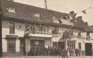 George & Dragon, Market Square 1902