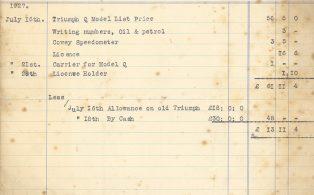 Invoice E. Blackton, Wolfe Garage 280727