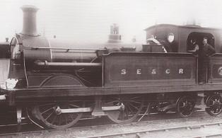 0-4-4 SECR Q Class Loco