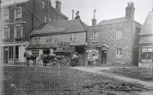 Grasshopper on the Green & Shops 1902