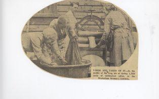 W.I. 1934 News scrapbook