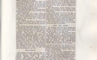W.I. 1933 News scrapbook