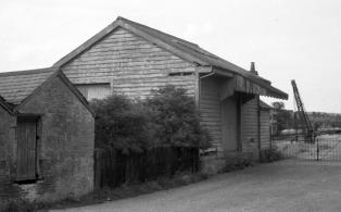 WVR Westerham station goods yard site after closure 2