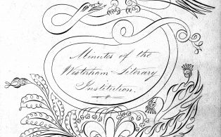 Literary Association Minute Book 1