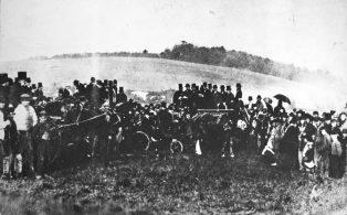 Warde O'Brien wedding party 1879