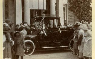Streatfeild Warde wedding 1912