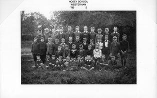 Hosey School boys 1920 - year 2