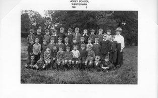 Hosey School boys 1920 - year 3