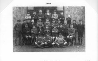 Hosey School boys 1928   Delta House