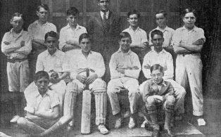 Hosey School cricket team 1932
