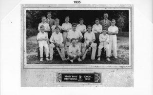 Hosey School cricket team 1935
