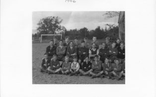 Hosey School 1946, section 1 of whole school