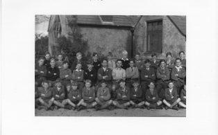 Hosey School 1946, section 2 of whole school