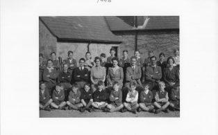 Hosey School 1946, section 3 of whole school