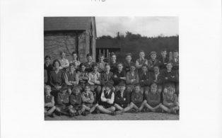 Hosey School 1946, section 4 of whole school