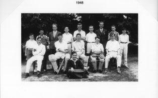 Hosey School cricket team 1948