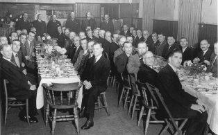 British Legion Dinner, Men's section