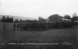 2nd West Lancs Royal Army Medical Corps at Squerryes