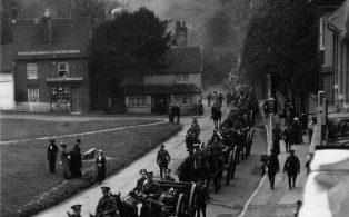 2nd West Lancs arrive in Westerham
