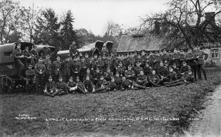2nd West Lancs Royal Army Medical Corps.