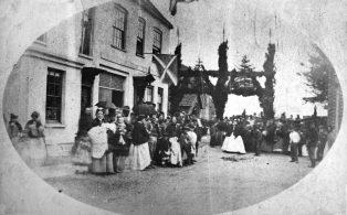 Warde O'Brien wedding 1879 at the Church Gate