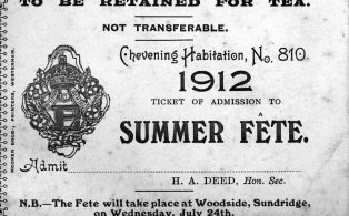 Chevening Summer Fete ticket