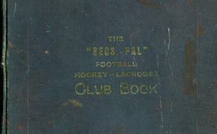 Black Eagle FC Club Book 1924-32