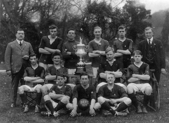 Black Eagle FC 1925 Chilman Richardson Grey Scale