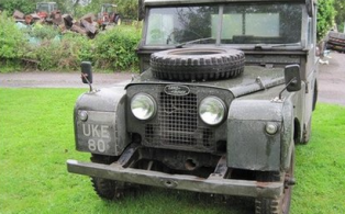 Churchill's Land Rover