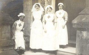 Dunsdale V.A.D Red Cross Nurses