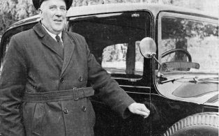 Churchill's chauffeur Frank 'Joe' Jenner and the Rolls
