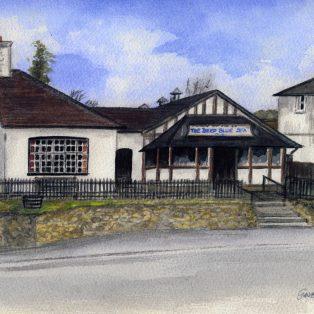 Gwen Smith St Marys Hall watercolour