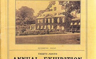 Catalog for Horticultural Society 39th annual exhibition at Squerryes
