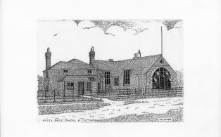 Hosey boys school and the Master's house 1930s