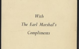 Earl Marshal's compliment notification