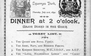Oddfellows and Foresters Fete 1892
