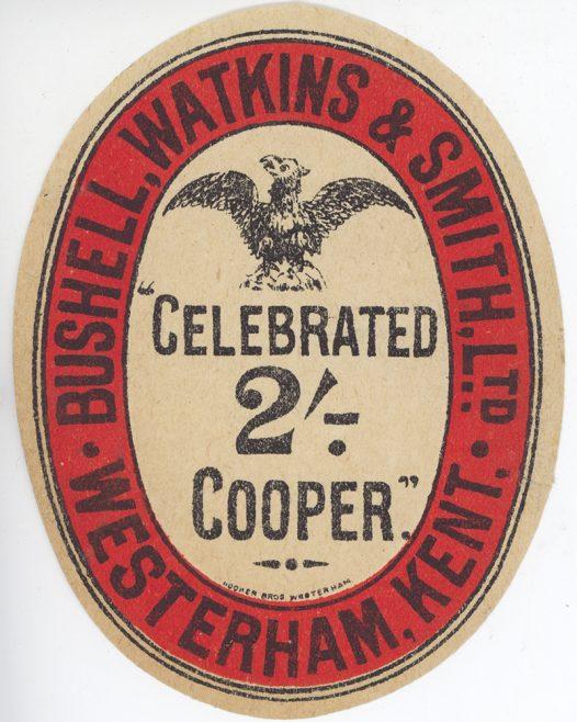 Black Eagle beer label