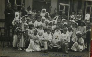 Hosey Night School production of Rip Van Winkle 1935