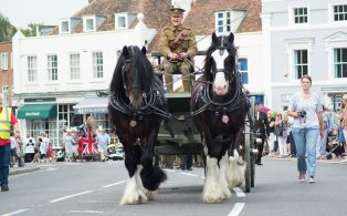 Summer of 1914 event in Westerham, July 2014